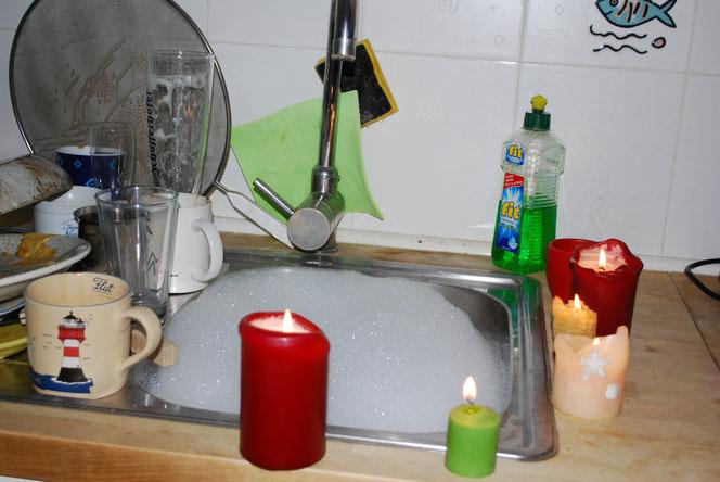 Mit Romantik der Frau das Wasser einlassen (Foto: Früherwisser Media)