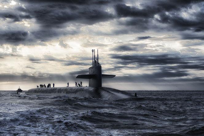 Leider kein Witz: Die Deutsche Marine besitzt sechs hochmoderne U-Boote, aber derzeit sind alle kaputt. Grund ist Ersatzteilmangel (Symbolfoto: Pixabay)
