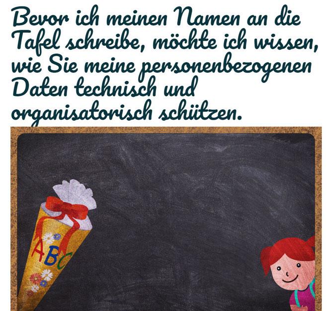 Achtung vor der DSGVO, auch in der Schule (Bild: Pixabay)