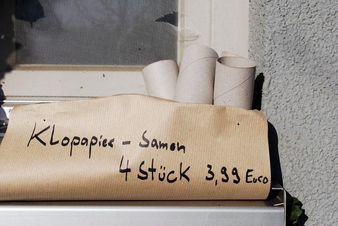 Immer mehr Deutsche bauen ihr Toilettenpapier jetzt selber an (Foto: Früherwisser Media)