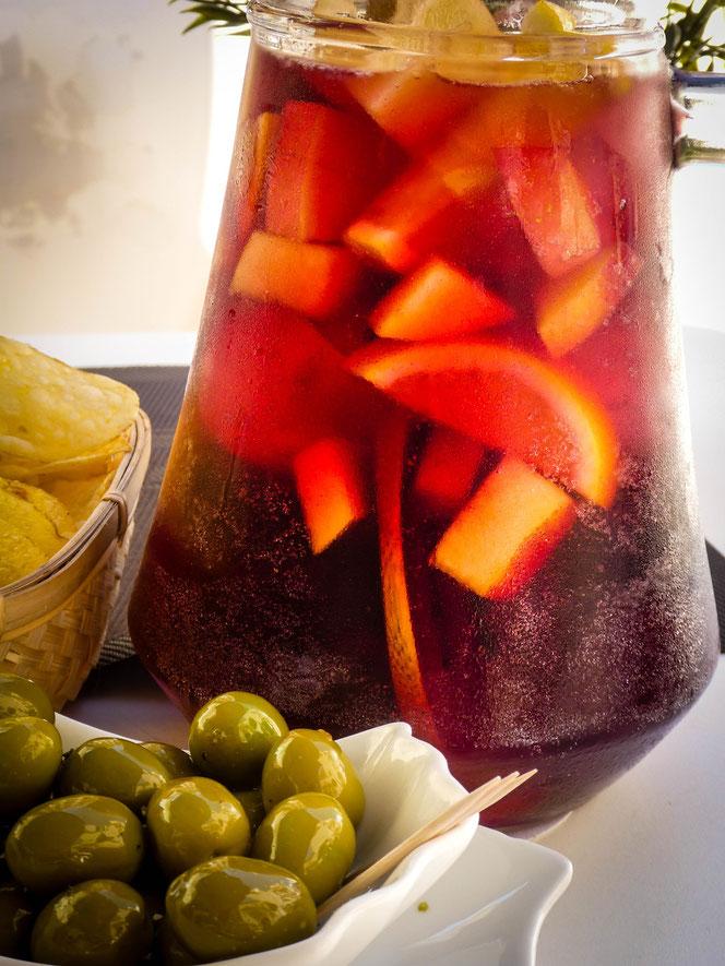Beliebtes Getränk nach Silvester: Sangria! (Foto: Pixabay)