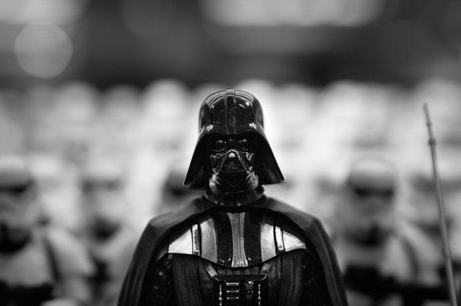Darth Vader und Co. sind gut vorbereitet auf das Corona-Virus (Foto: Pixabay)