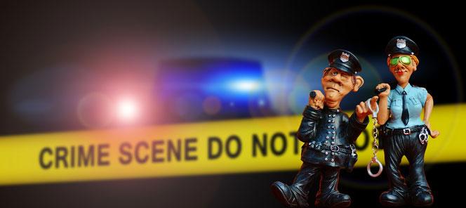 Der Tatort wird abgesichert (Foto: Pixabay)