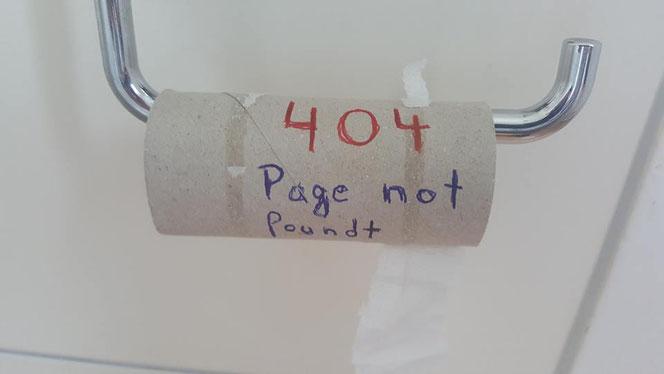 Egal wo: Wenn man in Not nicht mehr die richtige Seite findet, dann ist das nicht gut (Foto: Früherwisser Media)