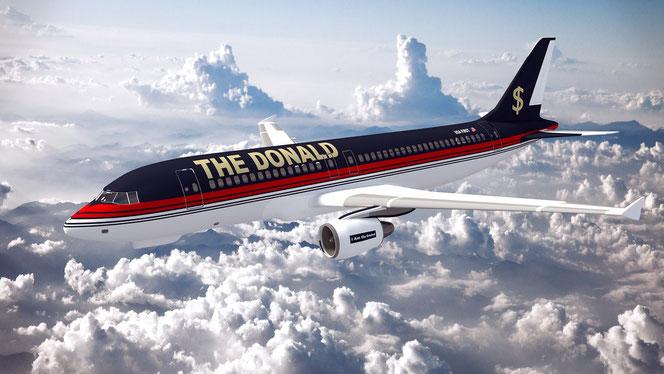 """The Donald"" ist unterwegs (Foto: Pixabay)"
