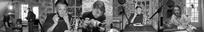 Photos du making off - Cession d'enregistrements - Étoile sur Rhône (F)