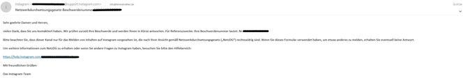 Fakeprofil instagram facebook einreichung beschwerde netzwerkdurchsuchungsgesetz netzdg - Rechtsanwalt Sven Nelke