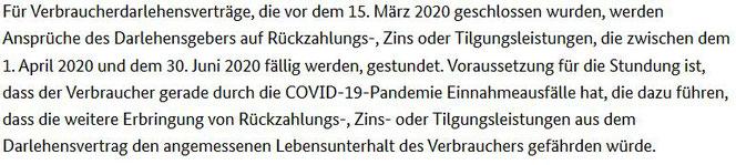 Kreditrate Darlehen nicht zahlen während Corona Pandemie keine Kündigung - Rechtsanwalt Sven Nelke