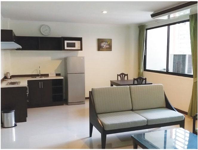 家具や家電の揃った部屋