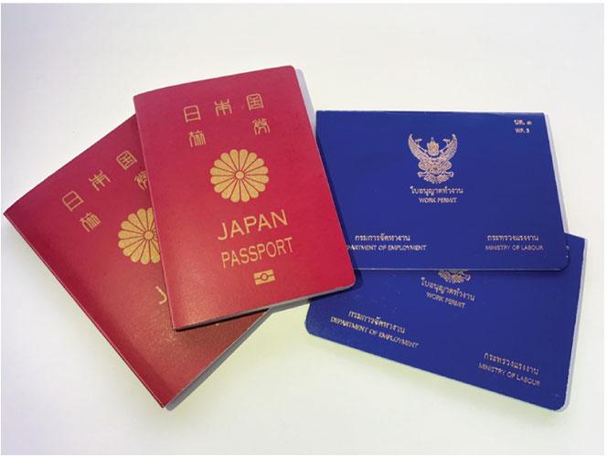 ビザ取得や更新、労働許可証取得も承ります