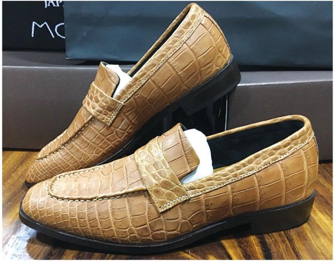 オーダーメイドの革靴