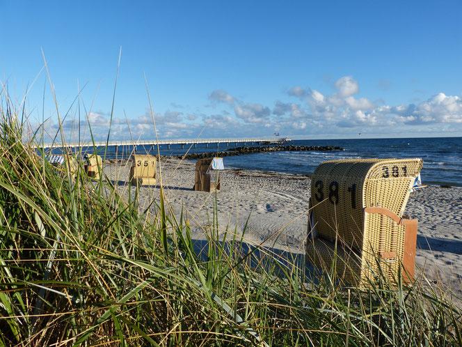Die Ostsee am Schönberger Strand