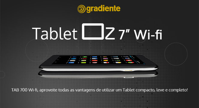 Tablet Gradiente Oz Tab 700