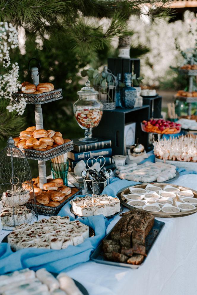 Cocktail apéritif, Diner en buffet et Brunch du lendemain au Domaine St-André à Meze