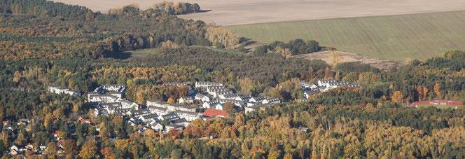 (Zum Vergrößern auf das Foto klicken:) Wohngebiet Schönfließ Bieselheide - Fotogruppe SichtWeisen