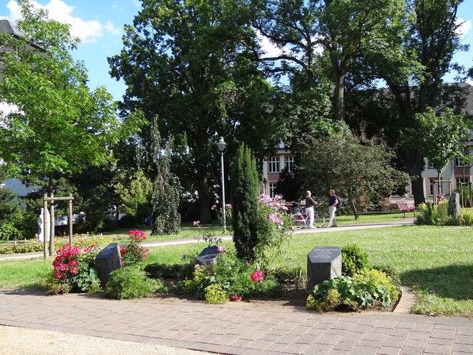 Blick auf den Alten Friedhof-Historischer Bürgerpark