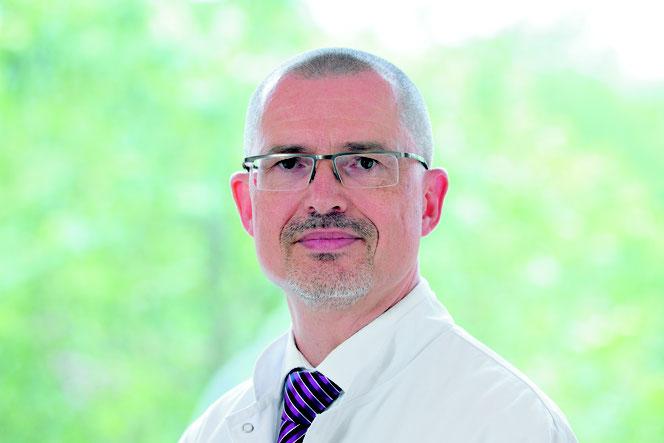 Dr. Mathias Elsner, Kardiologe und Chefarzt der Inneren Medizin. Quelle:  kreuznacher diakonie