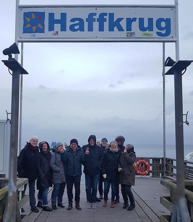 Zur Klausurtagung traf sich der damalige Vorstand im Februar 2020 in Haffkrug bei Lübeck. Auch einige Partner nahmen an dem Wochenende teil.