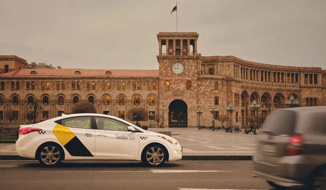 """Водитель """"Яндекс.Такси"""" Армения"""