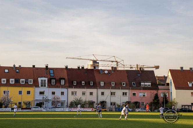 Sportanlage Sudetendeutsche Straße - DJK Falke Nürnberg