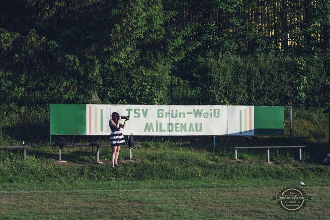 TSV Grün-Weiß Mildenau - Sportplatz Mildenau
