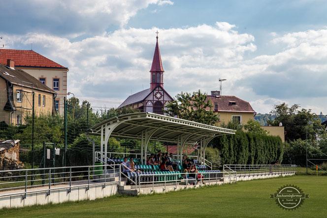 Stadion Edgara Hopfa Nové Sedlo - TJ Baník Union Nové Sedlo