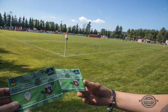 Pokalfinale Oberlausitzpokal - SV Gebelzig vs. FSV Oderwitz