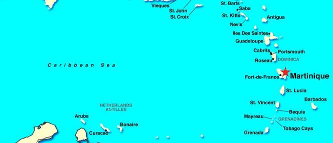 Een zeiljacht huren in de Caribbean voor een zeilvakantie.