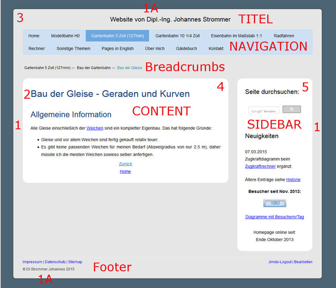 Jimdo-Layout mit CSS anpassen - Strommer Johannes