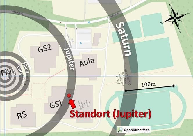 Standort - Jupiter