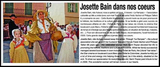 Article du Pure Saint-Tropez de mai - juin 2017