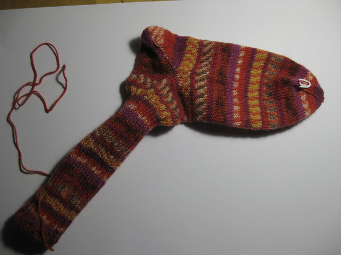 copyright www.birthe.eu Birthe Sülwald Socken stricken