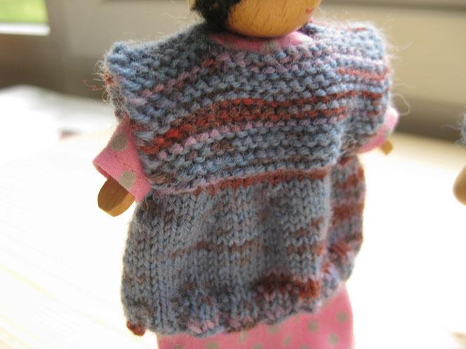 copyright www.birthe.eu Birthe Sülwald Pullover 1 für Püppchen stricken und entwerfen