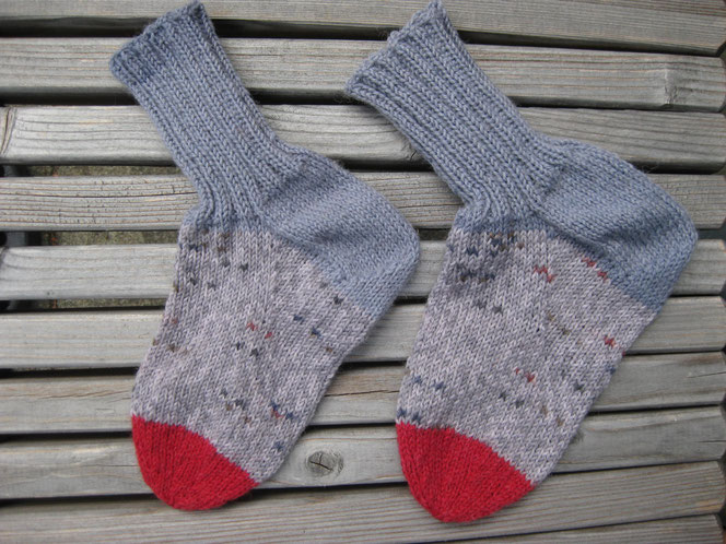 copyright www.birthe.eu Birthe Sülwald Kindersocken 1