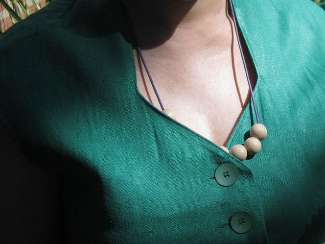copyright www.birthe.eu Birthe Sülwald neue Knöpfe neues Kleid