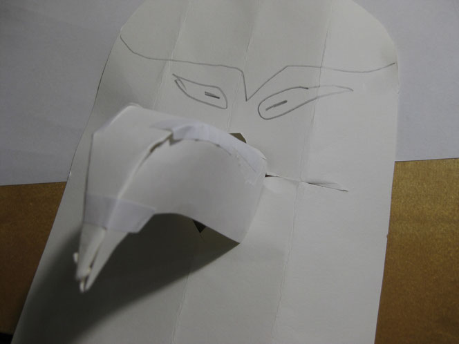 copyright www.birthe.eu Birthe Sülwald Masken-Muster