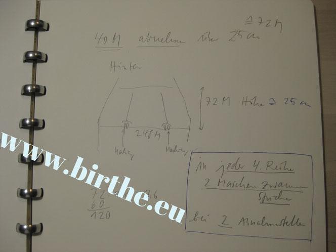 copyright www.birthe.eu Birthe Sülwald Strickkleid 6