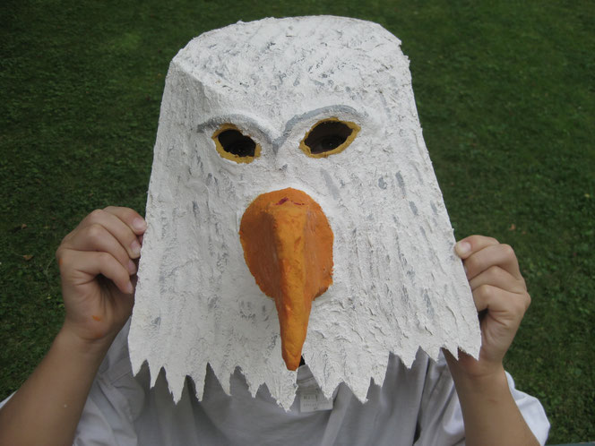 copyright www.birthe.eu Birthe Sülwald Maske