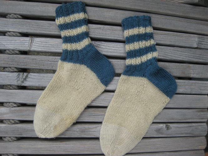 copyright www.birthe.eu Birthe Sülwald Kindersocken 3