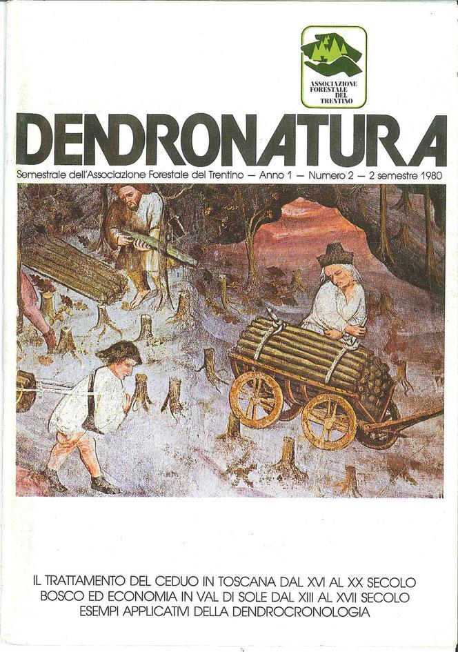 Foto di copertina (F. Faganello): Trasporto della legna da ardere, particolare degli Affreschi dei Mesi (dicembre) - Castello del Buonconsigiio, Torre dell'Aquila - Trento