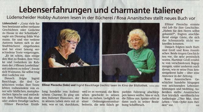 """Artikel in """"Lüdenscheider Nachrichten"""", 06.06.2019"""