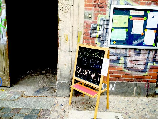 #Kurt-Tucholsky-Bibliothek Prenzlauer Berg