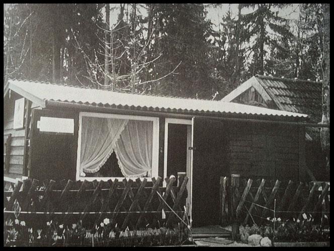 Vereinsheim zu den Gründerzeiten