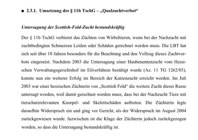 Quelle: Jahresbericht Landestierschutzbeauftragte Hessen, tierschutz.hessen.de