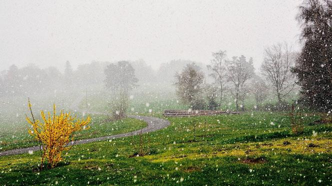 Foto: WetterOnline ( Kalte Luft und Niederschläge im Anmarsch.)