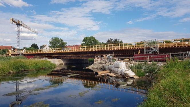 Bodebrücke Neugattersleben 07/2020