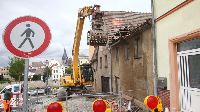 Foto: Lange Straße 1 in Bernburg