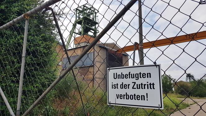 Schachtanlagen in Aderstedt