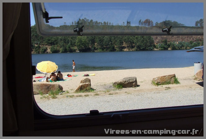 © virees en camping car Portugal
