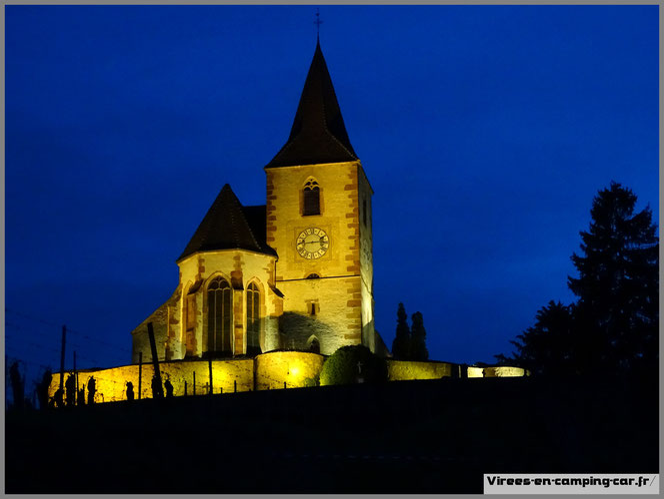 © virees en camping car Alsace